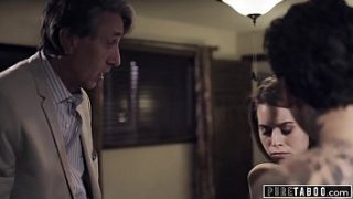 PURE TABOO Step-Brother Catches His Step-Sis سخيف Step-Dad